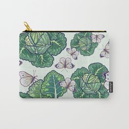 butterflies in the garden Carry-All Pouch