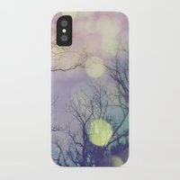 lunar iPhone & iPod Cases featuring Lunar Orbit by Olivia Joy StClaire