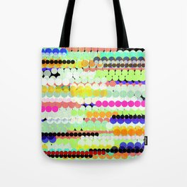 colorful abstract design Tote Bag