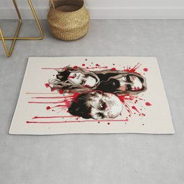Cleansing of the Wicked Rug