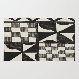 Tapa Cloth | Pacifica Patterns | Tribal Art Rug