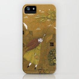 Autumn Kite iPhone Case