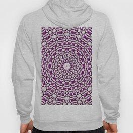 Purple Flower Mandala Hoody