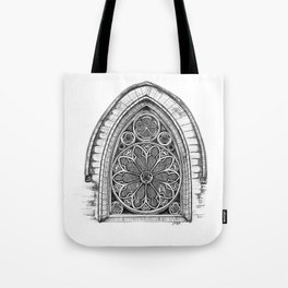 Intricate Architecture Tote Bag
