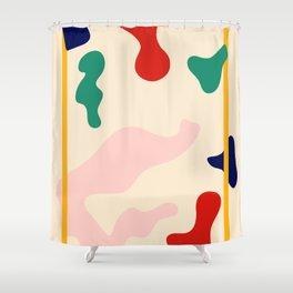 Happy Little Pattern II. Shower Curtain