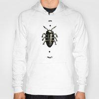 bug Hoodies featuring Bug by Bili Kribbs