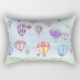 Hot Air Ballon Festival Rectangular Pillow