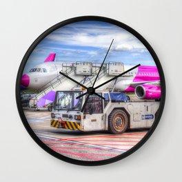 Wizz Air Airbus A321 Wall Clock