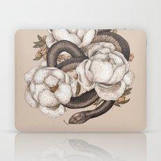 Snake and Peonies Laptop & iPad Skin