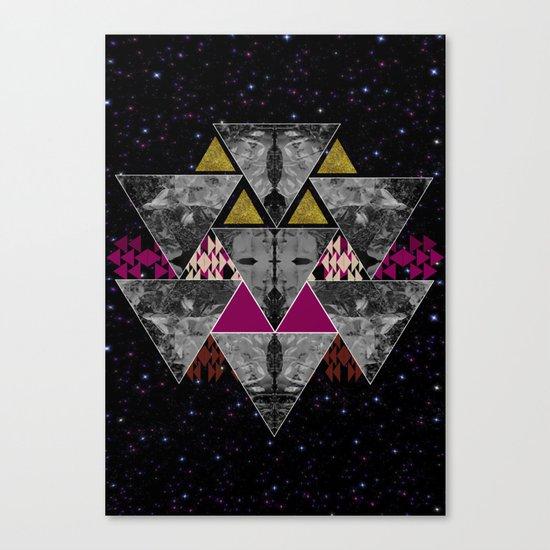 Galaxy trance  Canvas Print