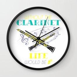Clarinet Life Gift Wall Clock