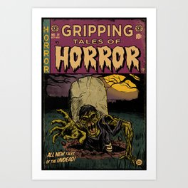 Tales of Horror Art Print