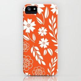 Summer field iPhone Case