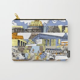 NY Stripes Carry-All Pouch