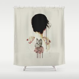 Backage Shower Curtain