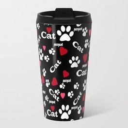 Traces of cats Travel Mug