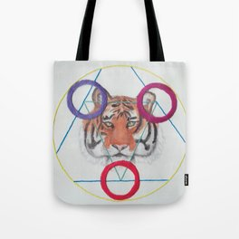 Sacred Tiger Tote Bag