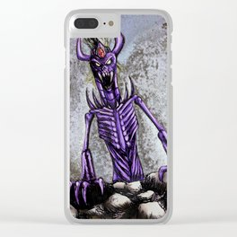 The horror of the deep Clear iPhone Case