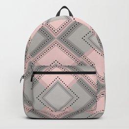 Floor Like Diamond Geometric Design Backpack