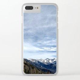 Sierra Nevada Sky Clear iPhone Case