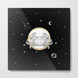 Cancer [Horoscope Collection] Metal Print