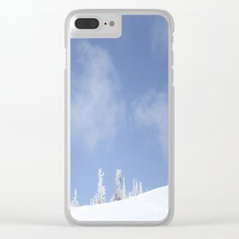 Winter day 14 Clear iPhone Case