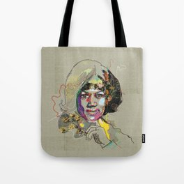 Aretha Franklin - Soul Sister | Soul Brother Tote Bag