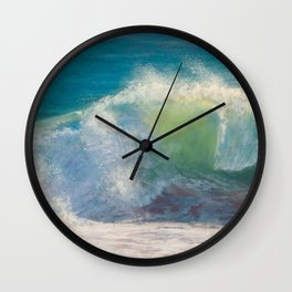 Limelight - Ocean Wave Wall Clock
