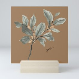 fall leaves Mini Art Print