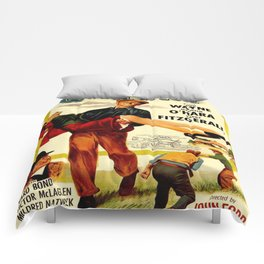 Vintage poster - The Quiet Man Comforters