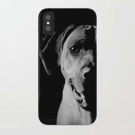 RIDGEBACK PORTRAIT iPhone Case