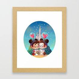 Sweet Day Framed Art Print