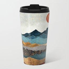 Amber Dusk Metal Travel Mug