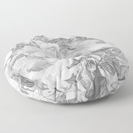 Sketchy Forest Floor Pillow
