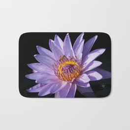 Evening Nymphaea Bath Mat