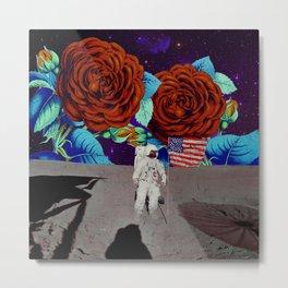 NASA - Moon Landing Metal Print