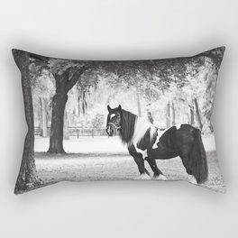 Majestic Horse Rectangular Pillow