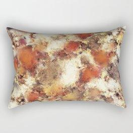 Terracotta tumble Rectangular Pillow