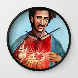 Jesus H.I. Christ Wall Clock