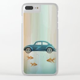 Bug afloat Clear iPhone Case