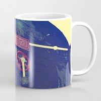 train Mugs featuring train  by gzm_guvenc