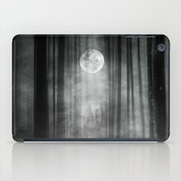 justin timberlake iPad Cases featuring Dark by Viviana Gonzalez