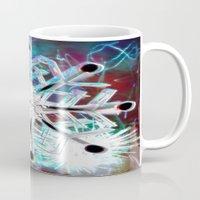 snowflake Mugs featuring Snowflake by Sarah Maurer