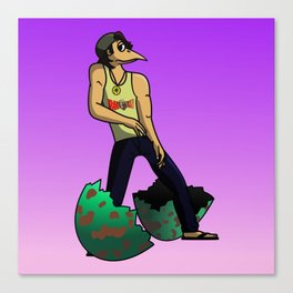 The Num Nums - Randy Just Has To Dance Canvas Print