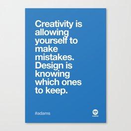 Design Quotes #7 Canvas Print