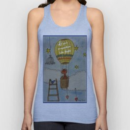 Let your imagination take flight Unisex Tank Top