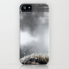 First Snowstorm iPhone Case