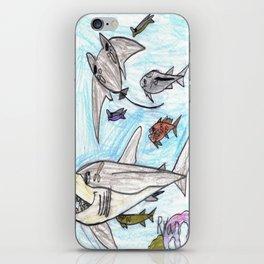 Playful Ray iPhone Skin