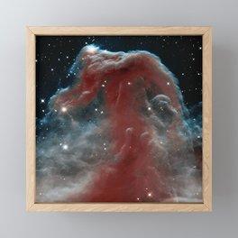 Horsehead Nebula Framed Mini Art Print