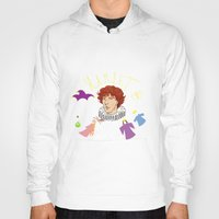 hamlet Hoodies featuring Hamlet - Prince of Denmark by TheScienceofDepiction